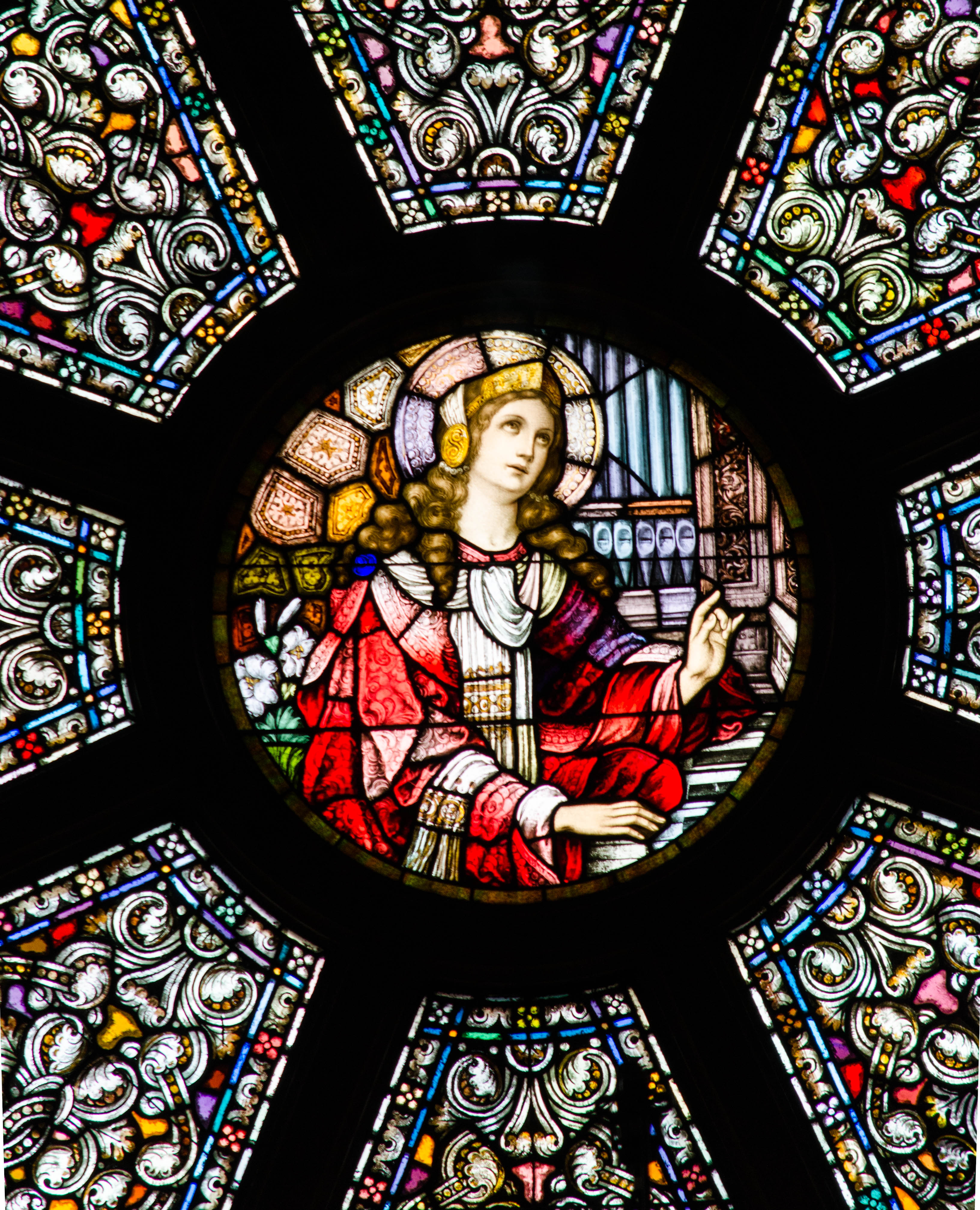 Stained glass   JulieM...