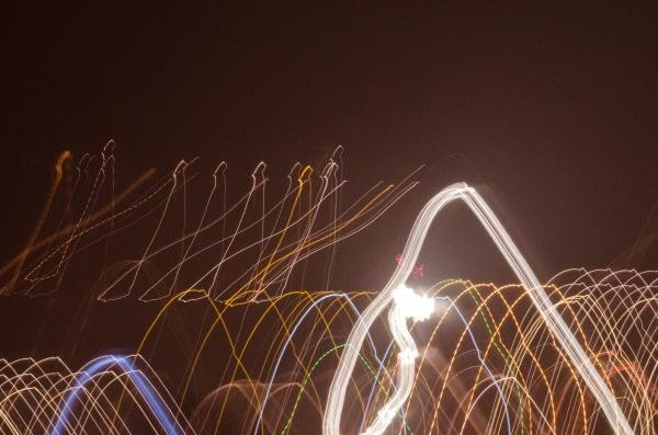 Photo Painting of Saugatuck Lights