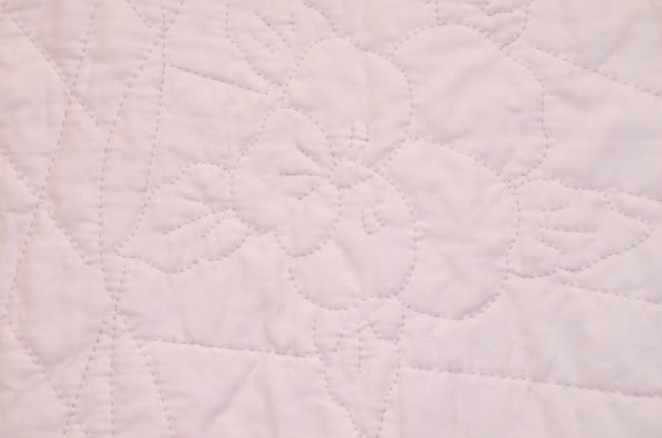 Some quilts are lovingly hand-stitched.