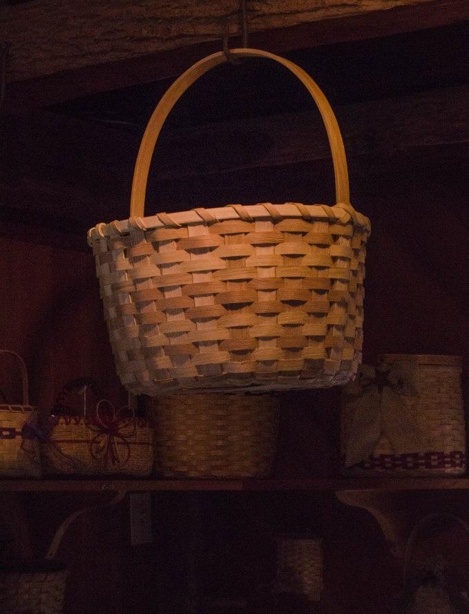 Hanging Basket at the Basket Weaver House
