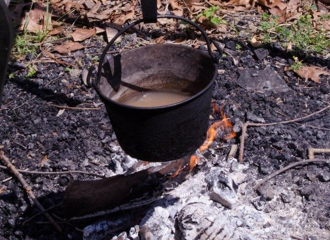 Hanging Pot (soup or dishwater?)