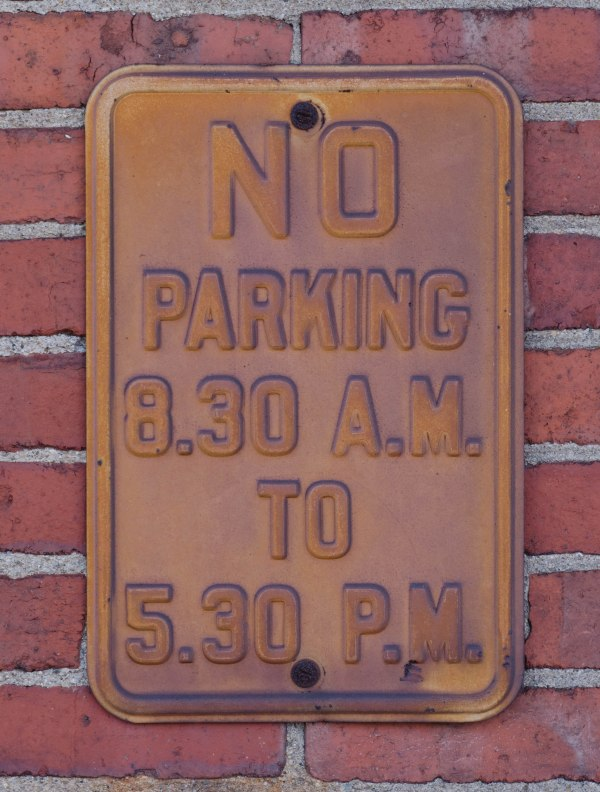 Aged Sign