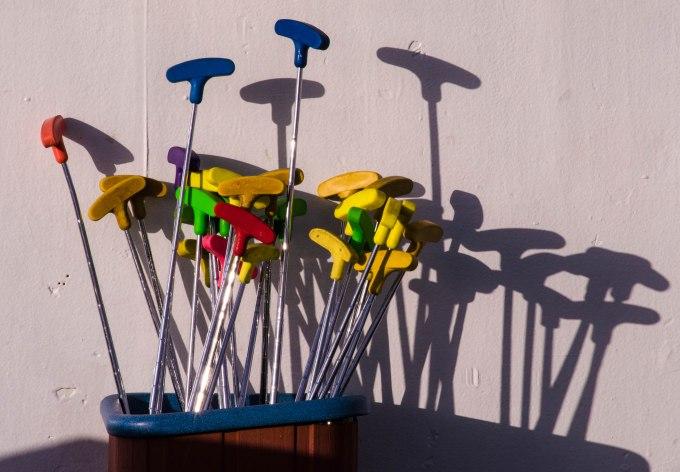 Mini Golf (on top deck)