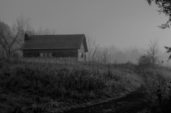 House in Black-and-White