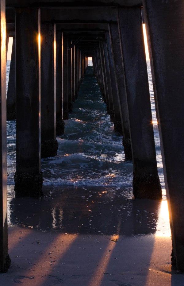 Under the Boardwalk Sunset