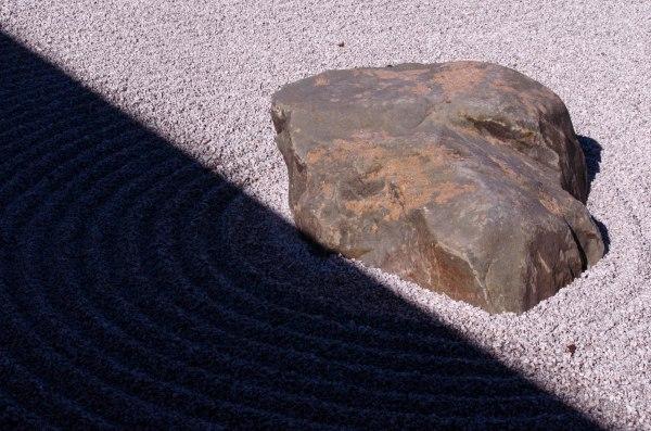 From the Zen garden