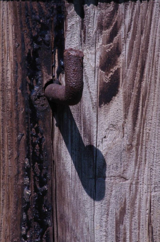 spike and wood
