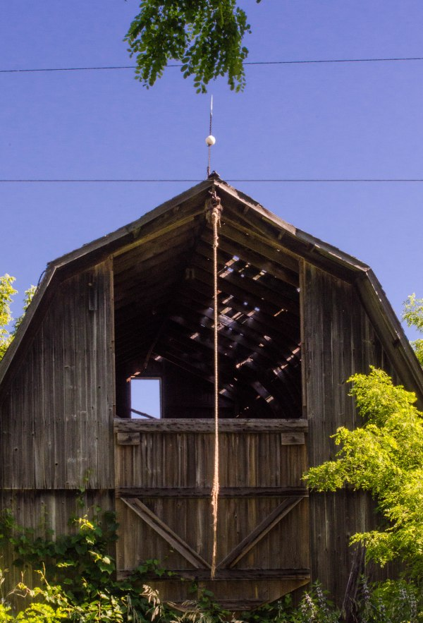 barn and rope